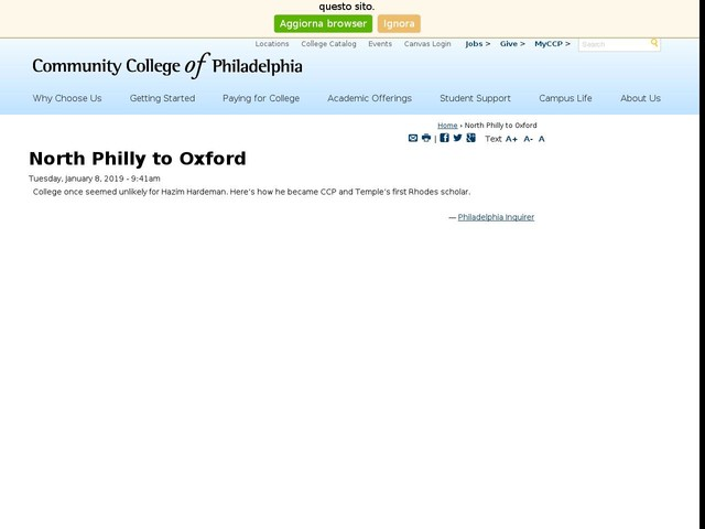North Philly to Oxford