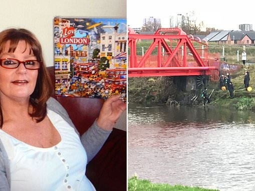Body parts found in a river belong to mother, 58, who disappeared more than two years ago