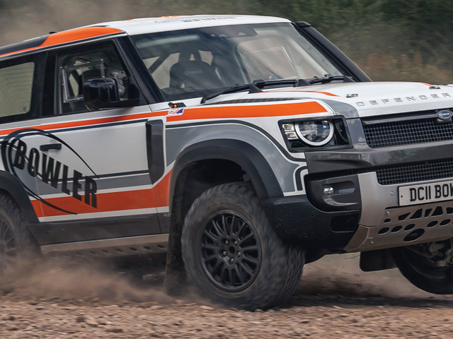 Bowler And Land Rover Unveil Defender Rally Car, Will Compete In One-Make Series