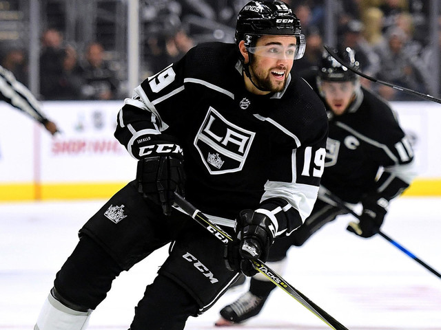 Kings rookie Alex Iafallo a living example of the team's tired play of late