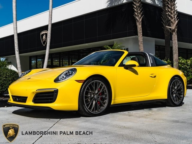 2019 Porsche 911--Targa--4S
