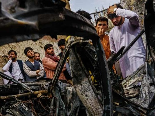 US Offers Rare 'Condolence Payments' To FamilyOf 10 Afghans Killed In Drone Strike