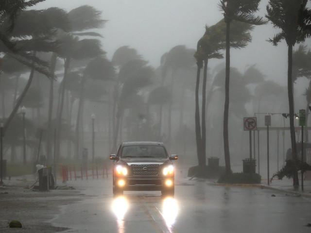 Hurricane Irma Powers Into Florida Keys With Punishing Wind, Rain