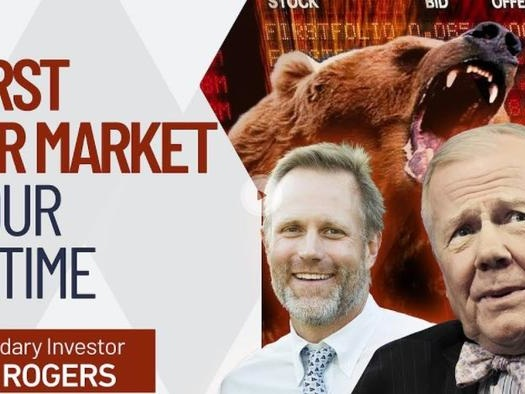 """Jim Rogers Warns The """"Worst Bear Market Of Our Lifetime"""" Is Fast Approaching"""