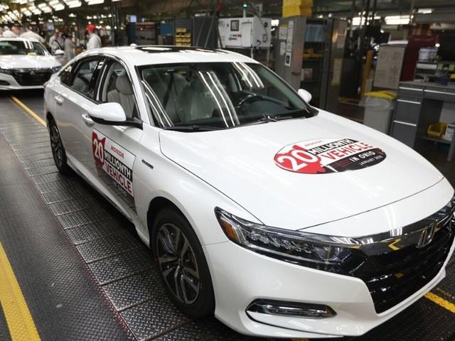 Honda Makes 20 Millionth Car in Ohio