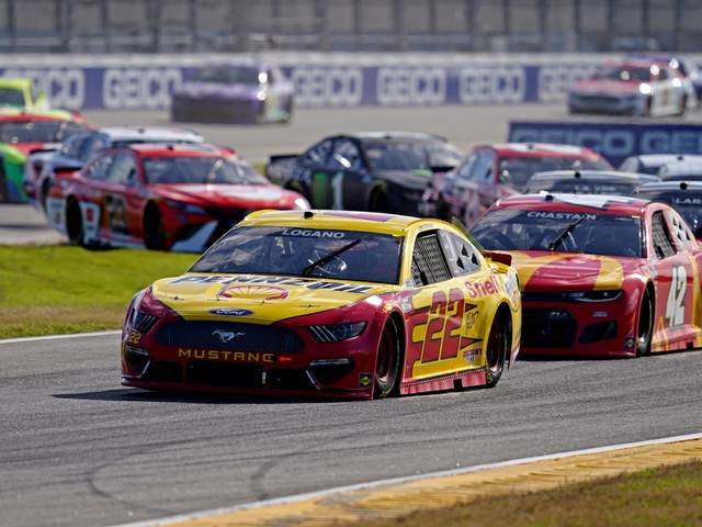 """""""Not Going to Be as Chaotic""""- Joey Logano Gives His Verdict as the NASCAR Bristol Dirt Race Approaches"""