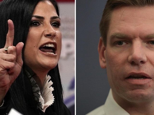 Eric Swalwell accused of sexism over this alarming response to challenge from Dana Loesch