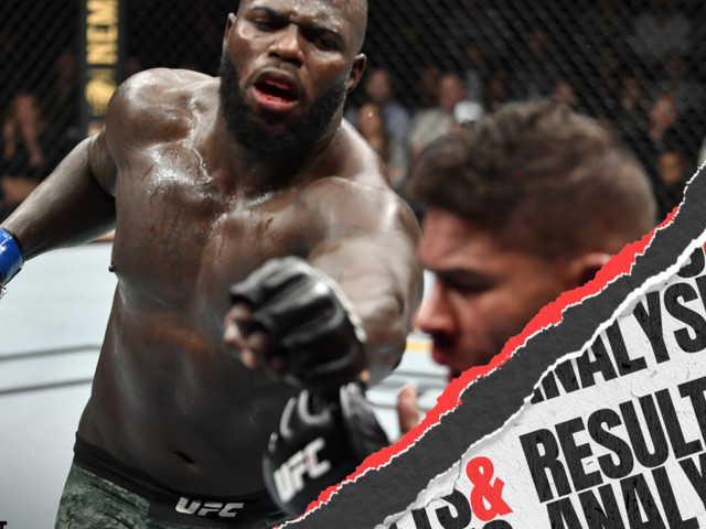 UFC on ESPN: Overeem vs. Rozenstruik results and post-fight analysis