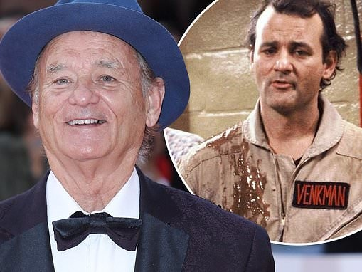 Bill Murray is back! Dan Aykroyd confirms co-star will return to the big screen in Ghostbusters 2020