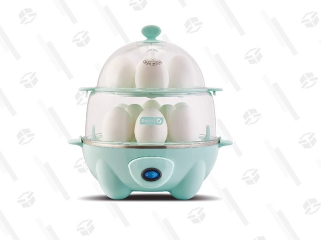 The Deluxe Rapid Egg Cooker is the Ideal Item For Lazy Chefs