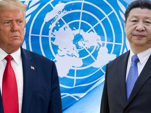 """Trump Denounces China'sCOVID-19 'Lies' In Fiery UN Address After Xi Swiped At US """"Bully Of The World"""""""
