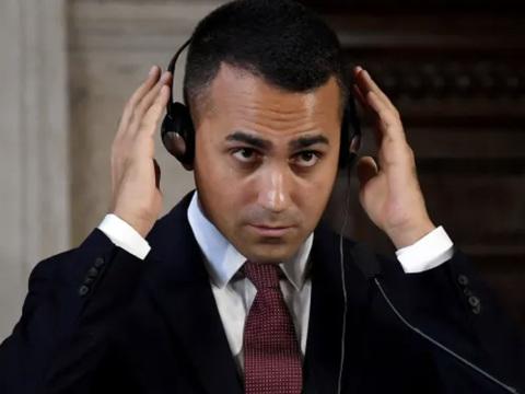 Italy's Luigi Di Maio Resigns As Five Star Leader