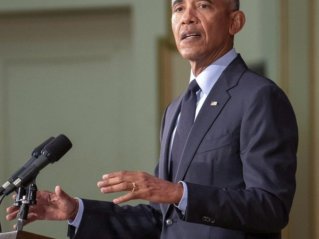 The Latest: Obama says sitting on sidelines is 'dangerous'