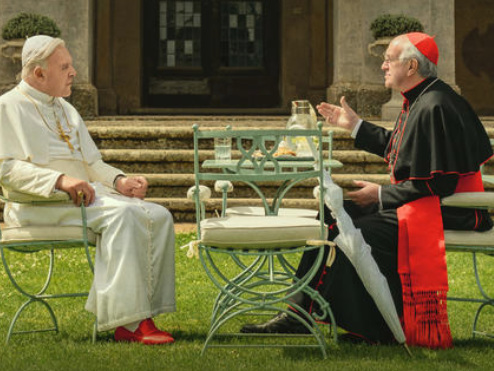 'The Two Popes' Trailer: Netflix Film Blesses Anthony Hopkins & Jonathan Pryce With Holy Roles
