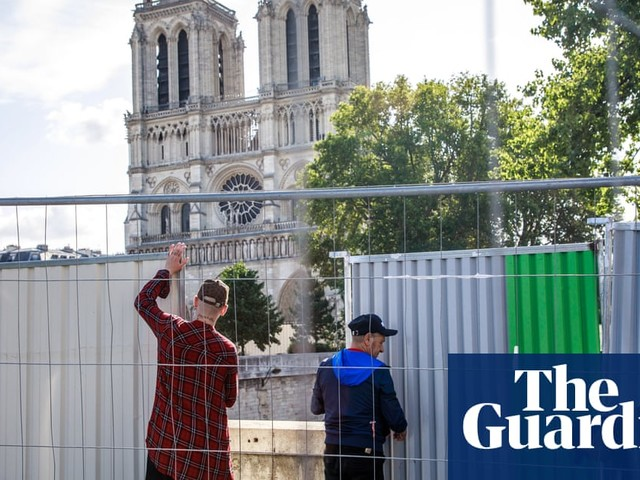 Notre Dame cathedral sealed off for huge lead decontamination operation