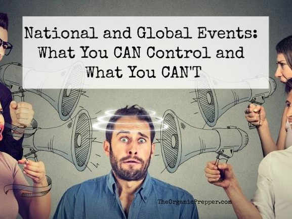 Coping With Global (& Local) Chaos: What You Can Control And What You Can't