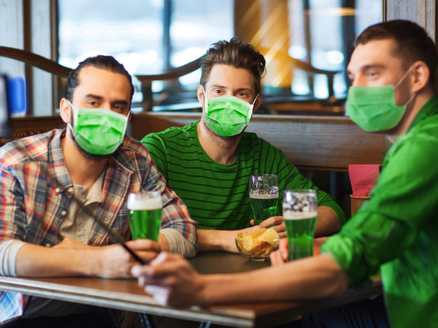 CDC warns to avoid indoor gatherings this St. Patrick's Day