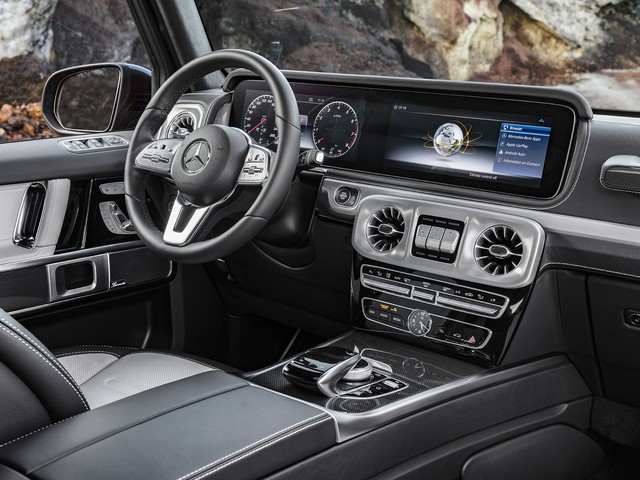 Inside the Redesigned 2019 Mercedes-Benz G-Class