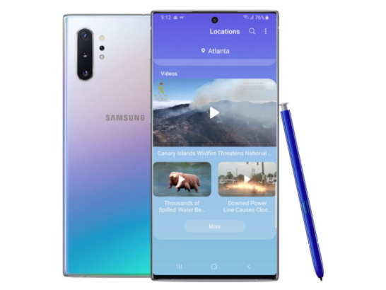 Samsung Galaxy Note10 Users Get New and Upgraded Weather Data