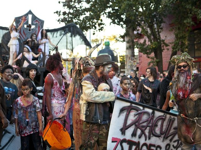 Frightfully Fun Halloween Parades and Parties
