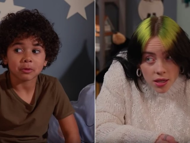 Billie Eilish Asking Kids Where They Go When They Sleep Is Both Pure and Downright Terrifying