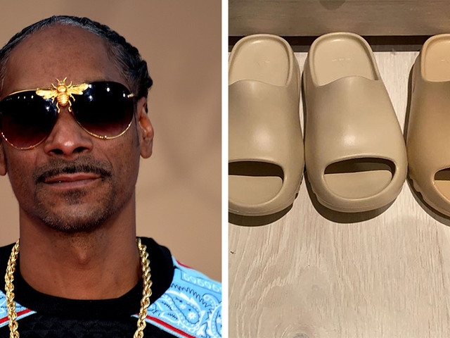 Snoop Dogg Laughs At Kanye West's Attempts At Fashion By Calling His New Slides 'Jail Slippers'
