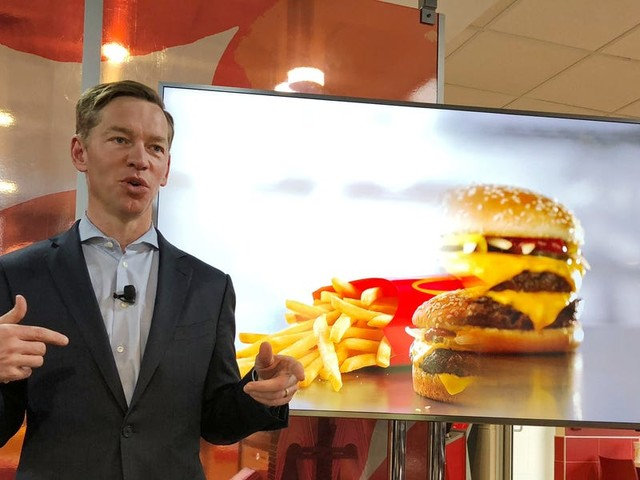 McDonald's new CEO had a global town hall about the future of the fast-food giant