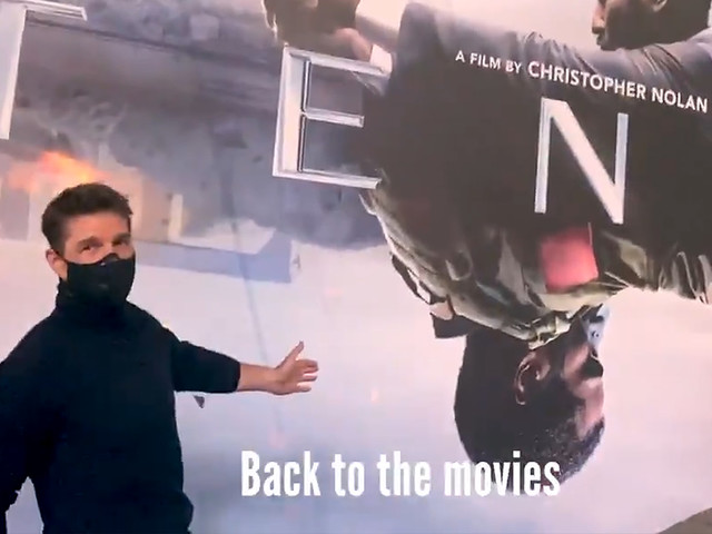 Tom Cruise's 'Tenet' stunt highlights the risks of going back to the movies