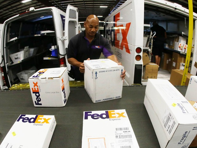 China might blacklist FedEx for not delivering Huawei phones. To save as much as $1.3 billion in Chinese deals, the package giant is now suing the Trump administration. (FDX)
