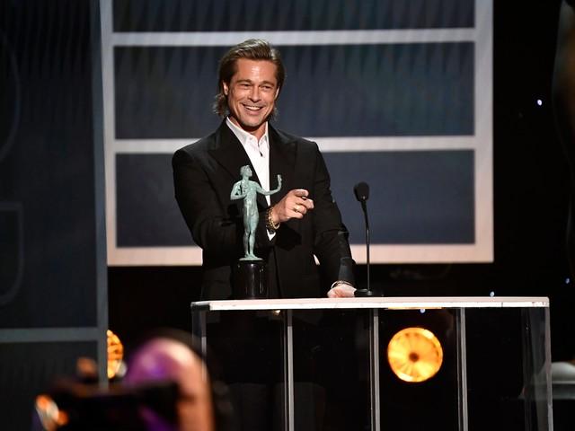 SAG Awards 2020: Brad Pitt, Laura Dern win supporting actor movie honors
