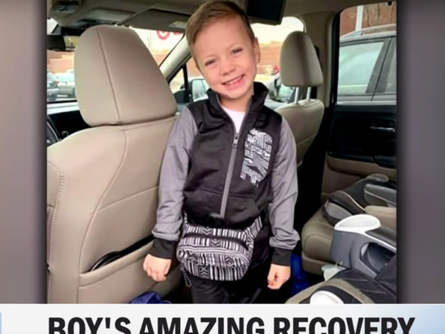 5-year-old boy who was thrown 40 feet from a Mall of America balcony speaks out about the horror attack: 'Angels caught me and Jesus loves me'