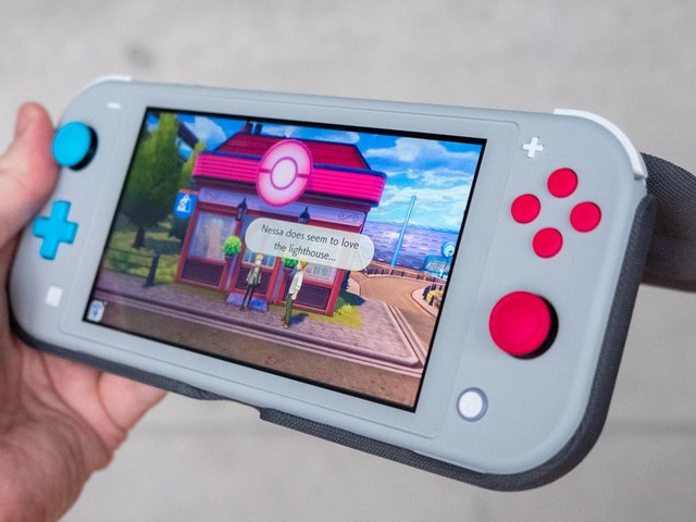 If you have a Switch Lite, you should get this Nintendo flip case