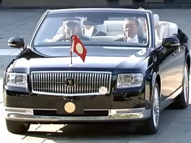 Toyota Century Convertible Bows At Emperor Naruhito's Coronation Ceremony