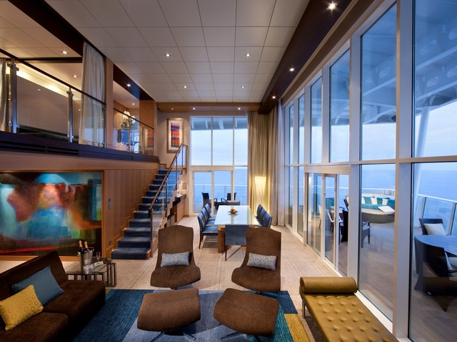 5 giant suites you can book on a Royal Caribbean cruise ship