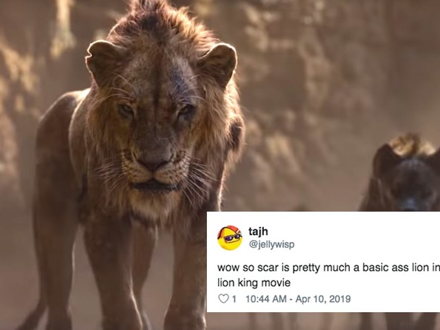 We Finally Got a Glimpse of the New Lion King's Scar, and He's . . . Kind of a Letdown, TBH