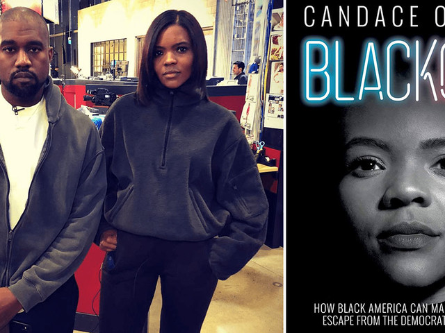 """Kanye West Thanks Candace Owens for """"Blackout"""" Book"""