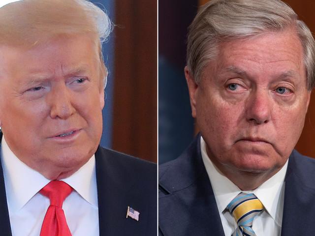 Donald Trump takes a shot at Lindsey Graham
