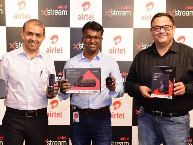 Airtel Launches Xstream Box and Xstream Stick in India