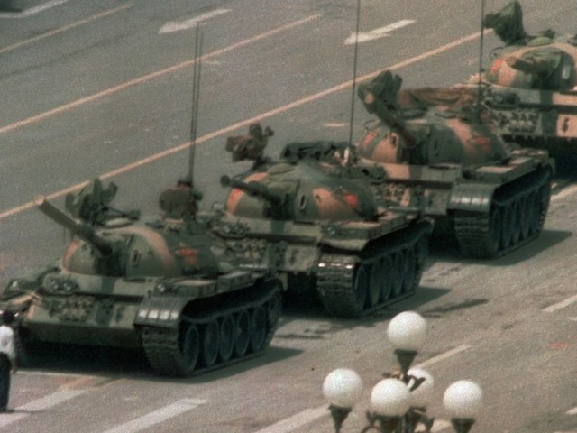 A photographer behind the iconic Tiananmen Square image has died. He once said he had to wrap the film up and stash it in the toilet in order to hide it from Chinese security.