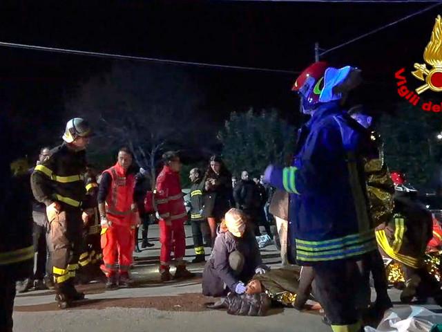 6 dead, including 3 girls, 2 boys in club stampede in Italy; dozens hurt