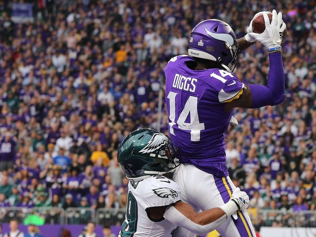 Stefon Diggs' overdue performance shows what the Vikings offense can really do