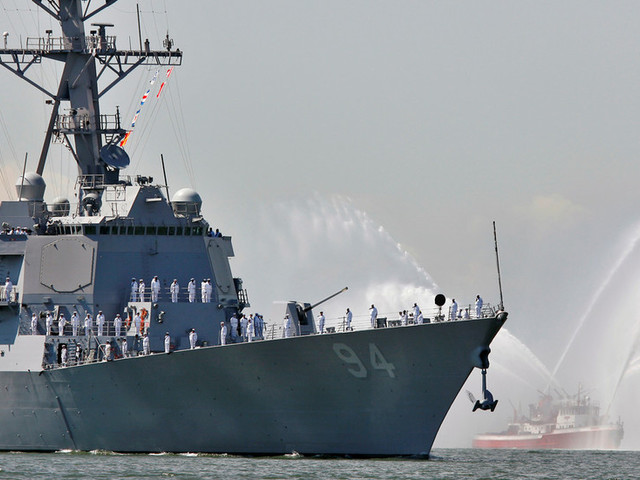 US destroyer famous for 'self-defense strikes' on Yemen redeploys to Saudi coast as Pentagon prepares more purely defensive assets