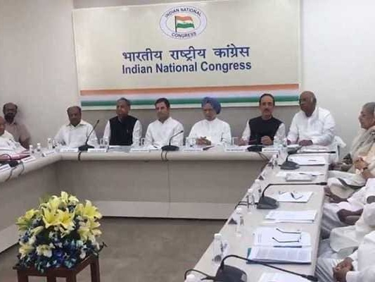 Congress CWC Meet Today To Give Final Shape To Election Manifesto