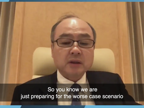 "SoftBank CEOWarns Of""Lehman-Like-Crisis"" That Could Crash Global Economy"