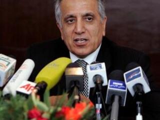 US peace envoy in Pakistan seeking end to 17-year Afghan war