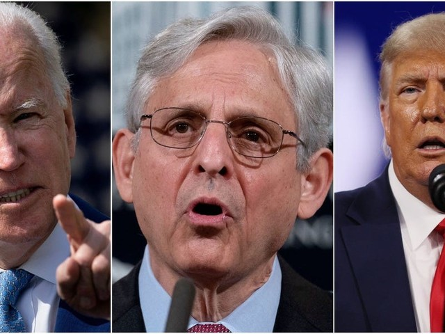 Nearly 100 days in, Merrick Garland and the Justice Department are showing no public signs that Trump is in their sights