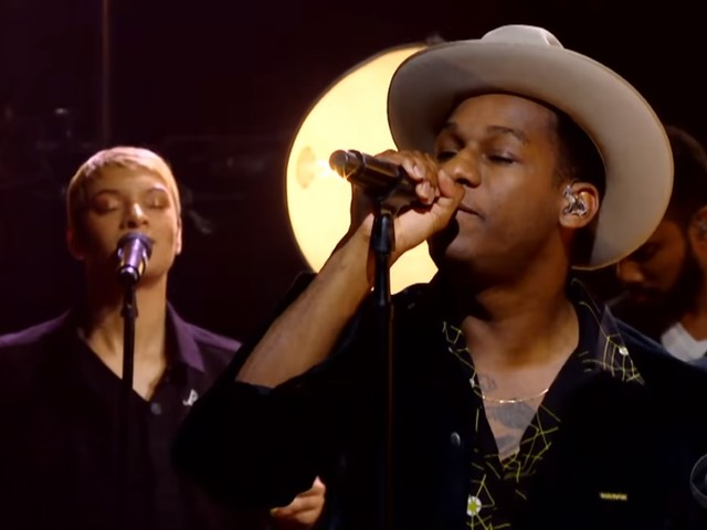 Leon Bridges Performs On 'The Late Late Show With James Corden'