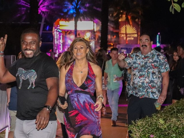 I got a last-minute ticket to an exclusive Super Bowl bash in Miami, where the CEO of Goldman Sachs was a DJ and Lil Jon and Sammy Sosa partied. Here's what it was like.