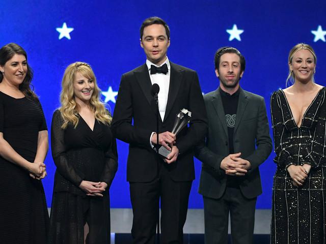 'Big Bang Theory' Cast Presents Career Achievement Award to Chuck Lorre at Critics' Choice Awards 2019