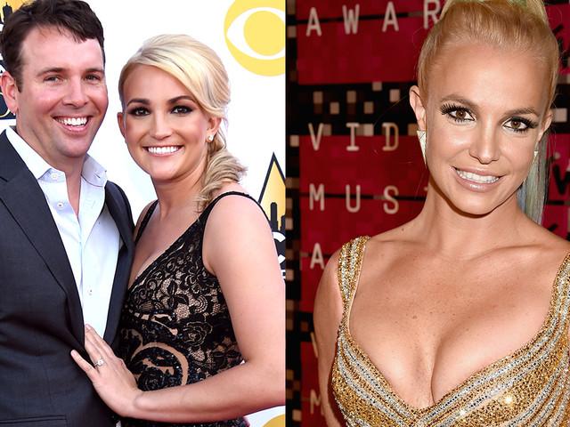 Jamie Lynn Spears' husband seemingly caught looking at sister-in-law Britney's Instagram